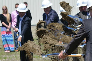 $100 million EB-5 project AnC Bio breaks ground in Newport