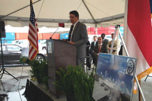 Governor Marks Symbolic Start Of Cold Storage Facility At Port