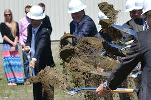 $100 million EB-5 project AnC Bio breaks ground in Newport