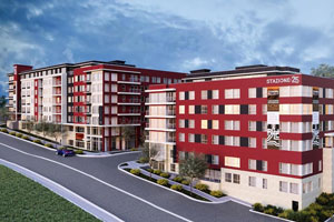 $95M development to rise from once-overlooked site by Seattle light rail station